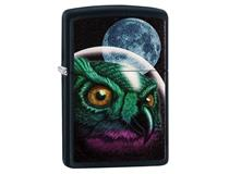 29616 SPACE OWL - BLACK MATTE