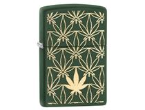 29589 LEAF PATTEN - GREEN MATTE