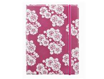 A5 Impressions Notebook Pink/White