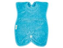 TOWEL HIGHCHAIR HUGGER BIB AQUA
