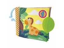 (Fabric) 1-2-3- Book Stroller Toy