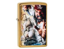 29781 Brushed Brass Pirate Mazzi Design